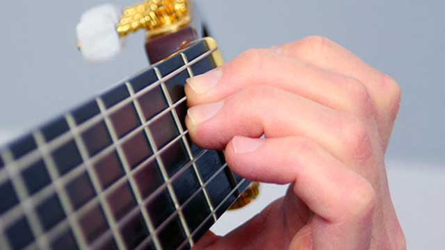 How to Play an E Minor Chord