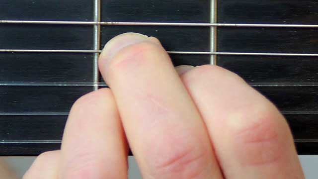 How to Play an A Chord