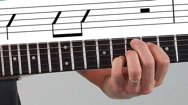 How to Read Guitar Notation, Part 4: Slash Notation