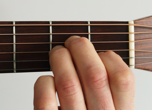 How to Play an A Minor Chord