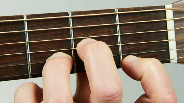 How to Play a D Minor Chord