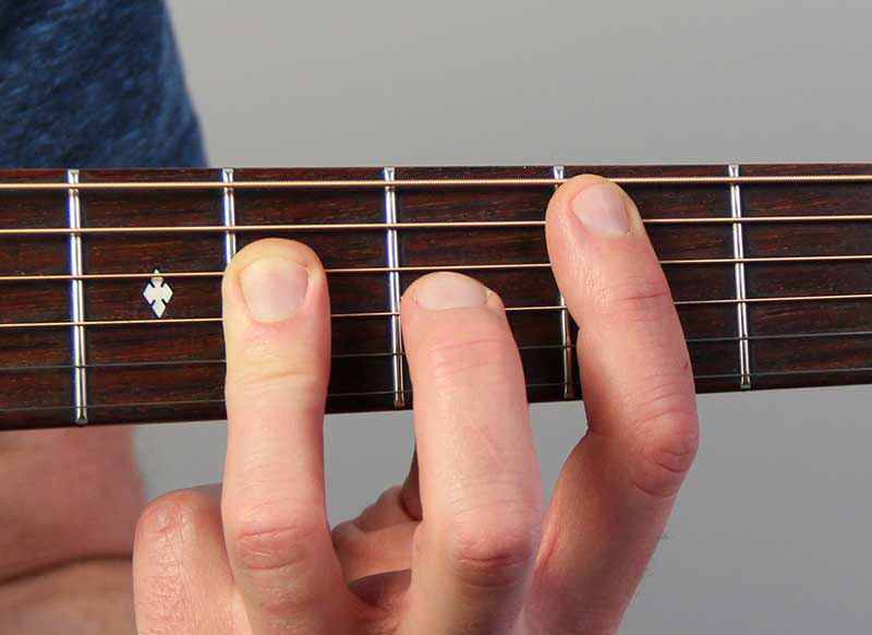 How to Play a B Major Chord